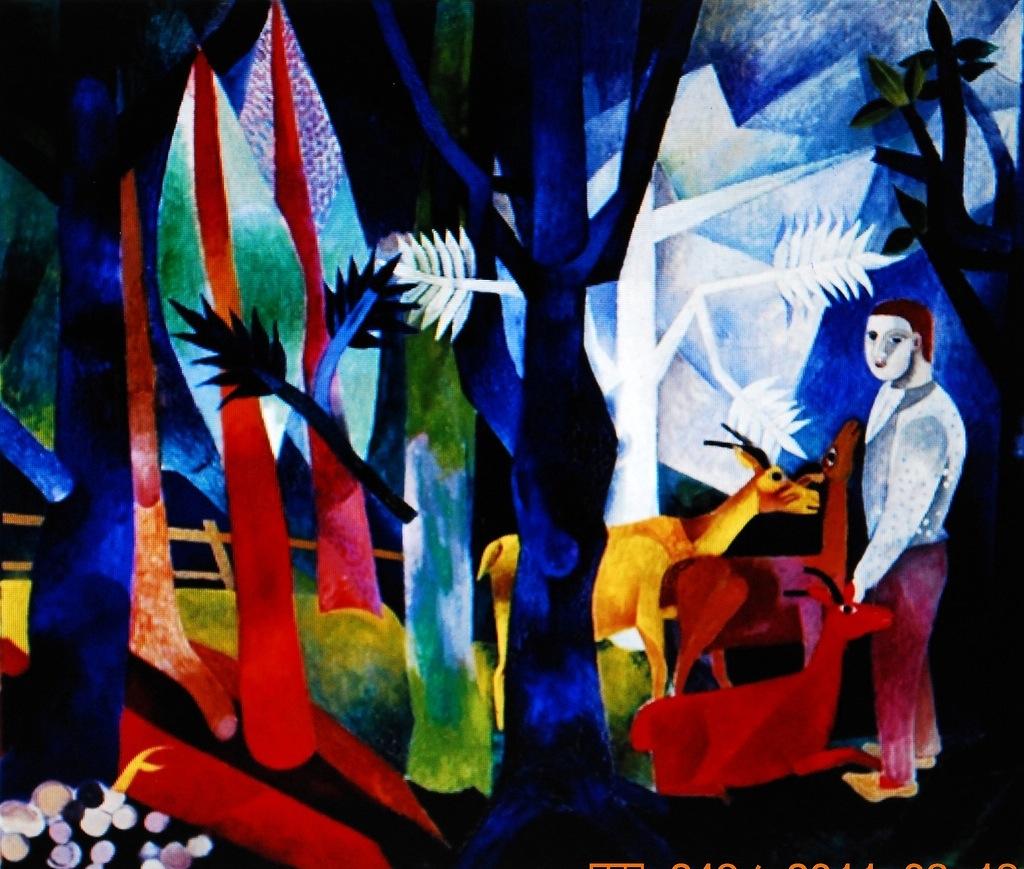 Pintura: Heinrich Campendonk (1889-1957)