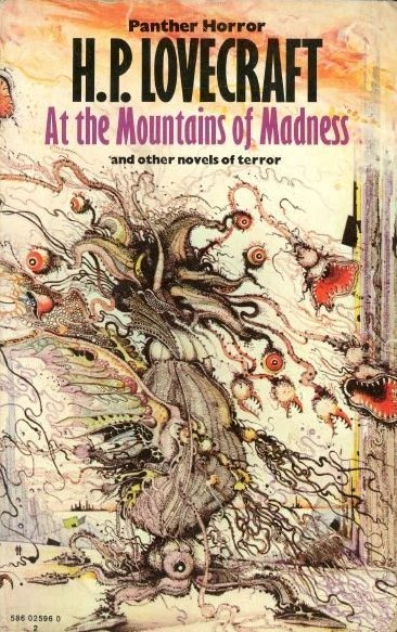 at the mountains of madness - lovecraft - panther uk pub - 1970s